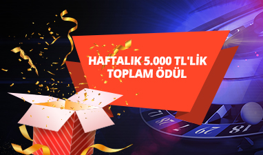 5.000 TL Toplam Ödüllü Turnuva