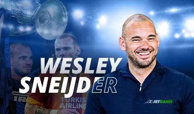 Sneijder Yorumlarıyla Jetbahis'te